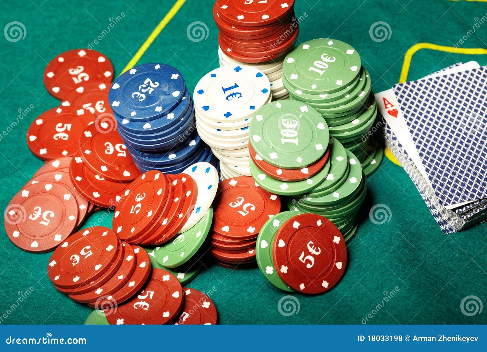 Poker stock photo  Image of bank, chip, game, bonanza - 18033198