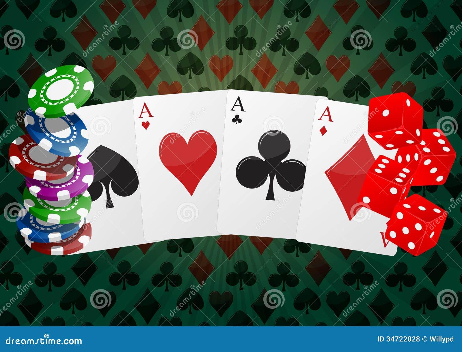 4 pics 1 word casino gambling cards