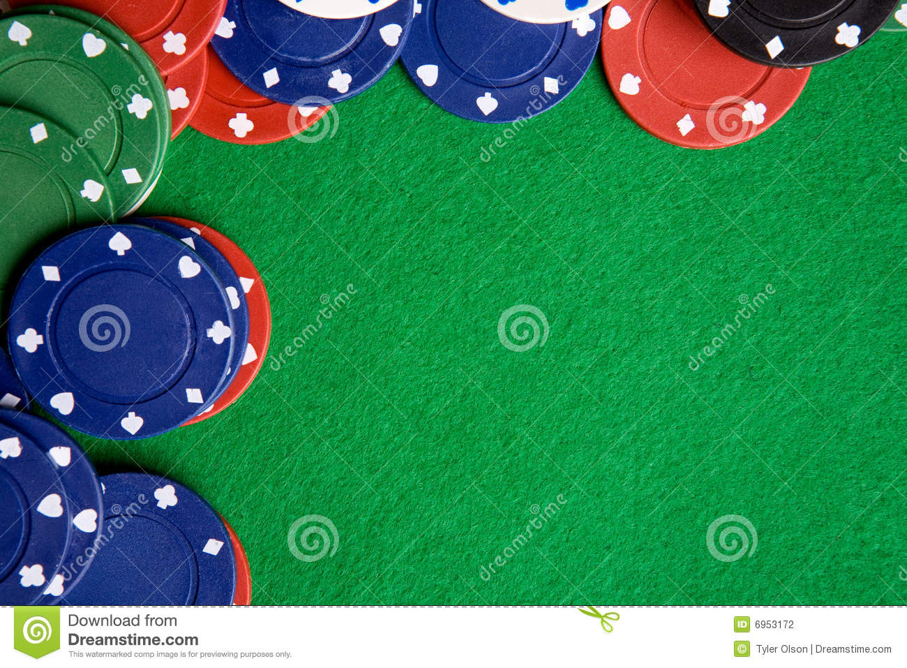 Poker background stock photography image 6953172