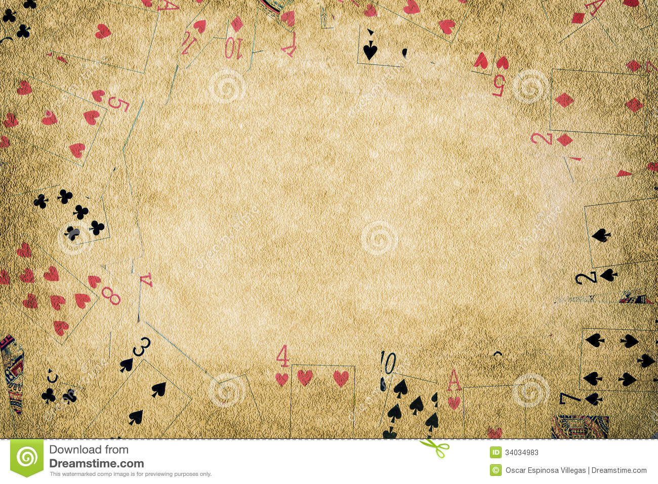 Poker background stock...