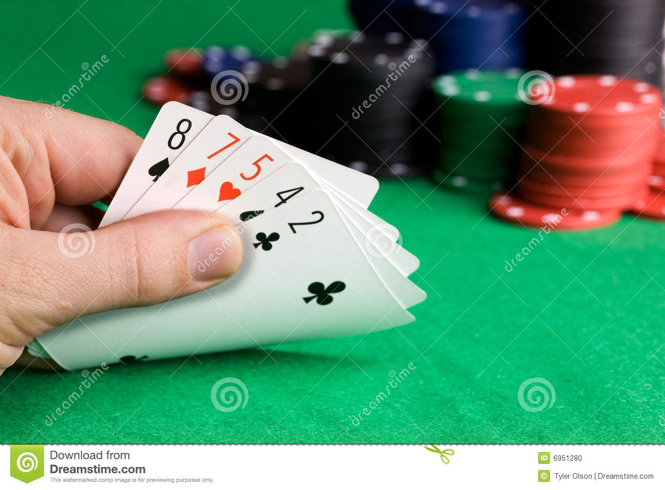 Bluffen Poker