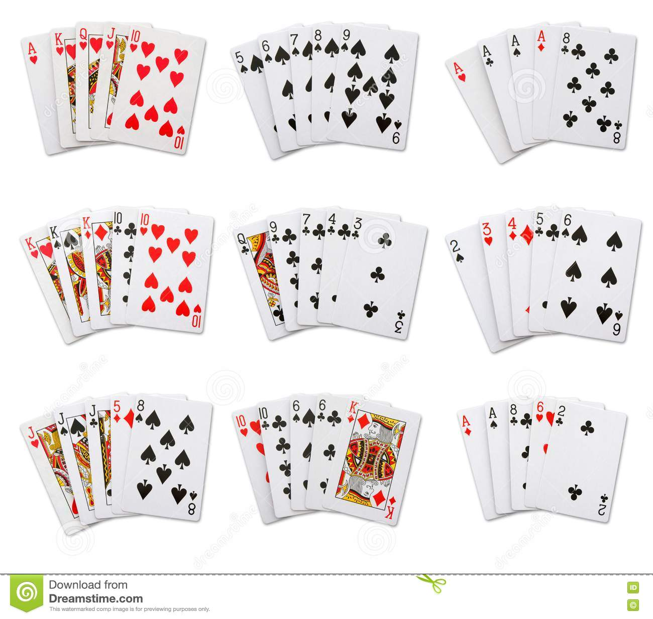 7 card poker rules with wild cards series simone