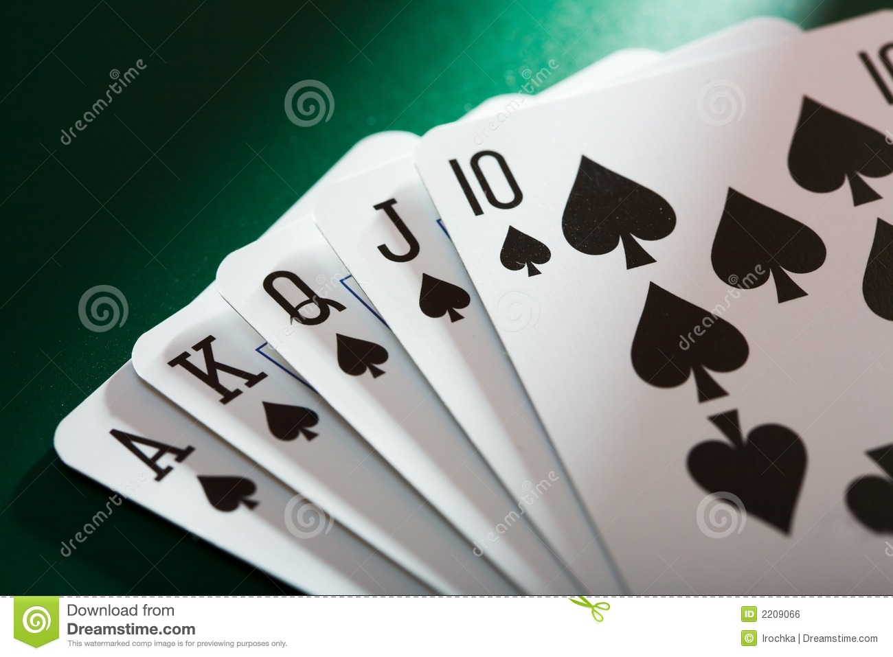 Poker Cards Royalty Free Stock Image - Image: 2209066