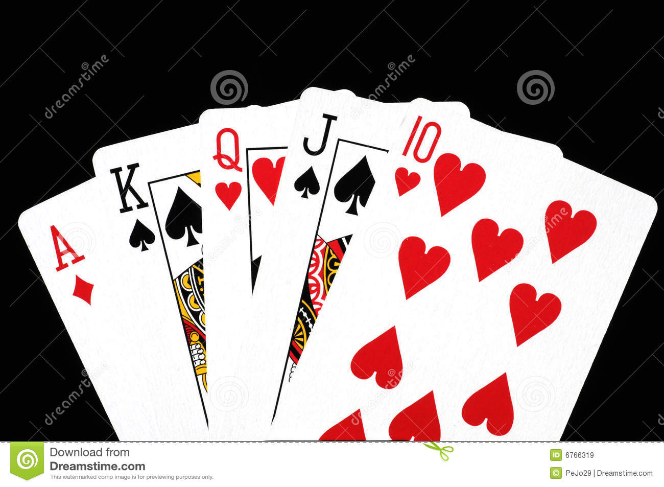 Poker Cards Royalty Free Stock Images - Image: 6766319