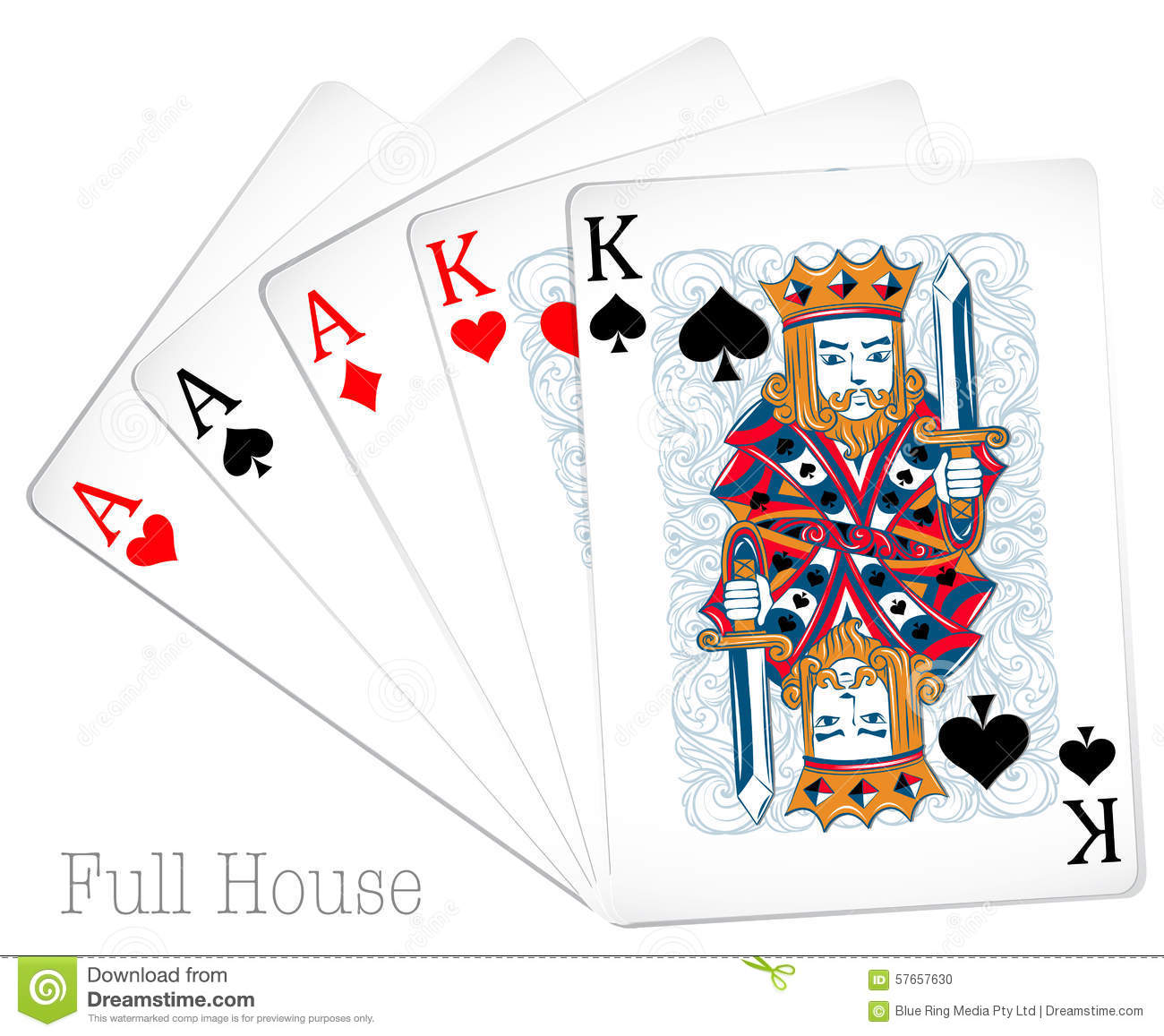 full house in cards