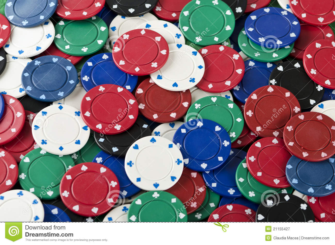 Poker Chips Background Royalty Free Stock Photography ...