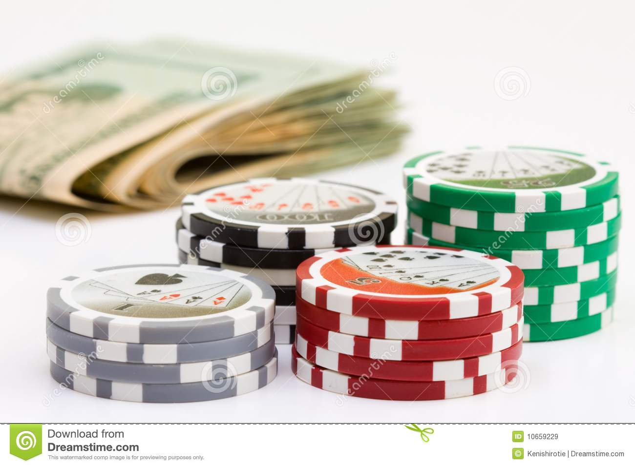cash poker chips
