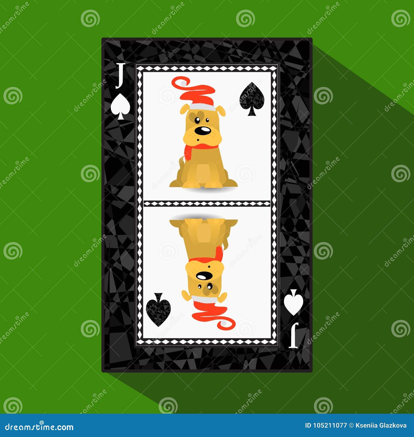 Poker för ` s för nytt år för kort