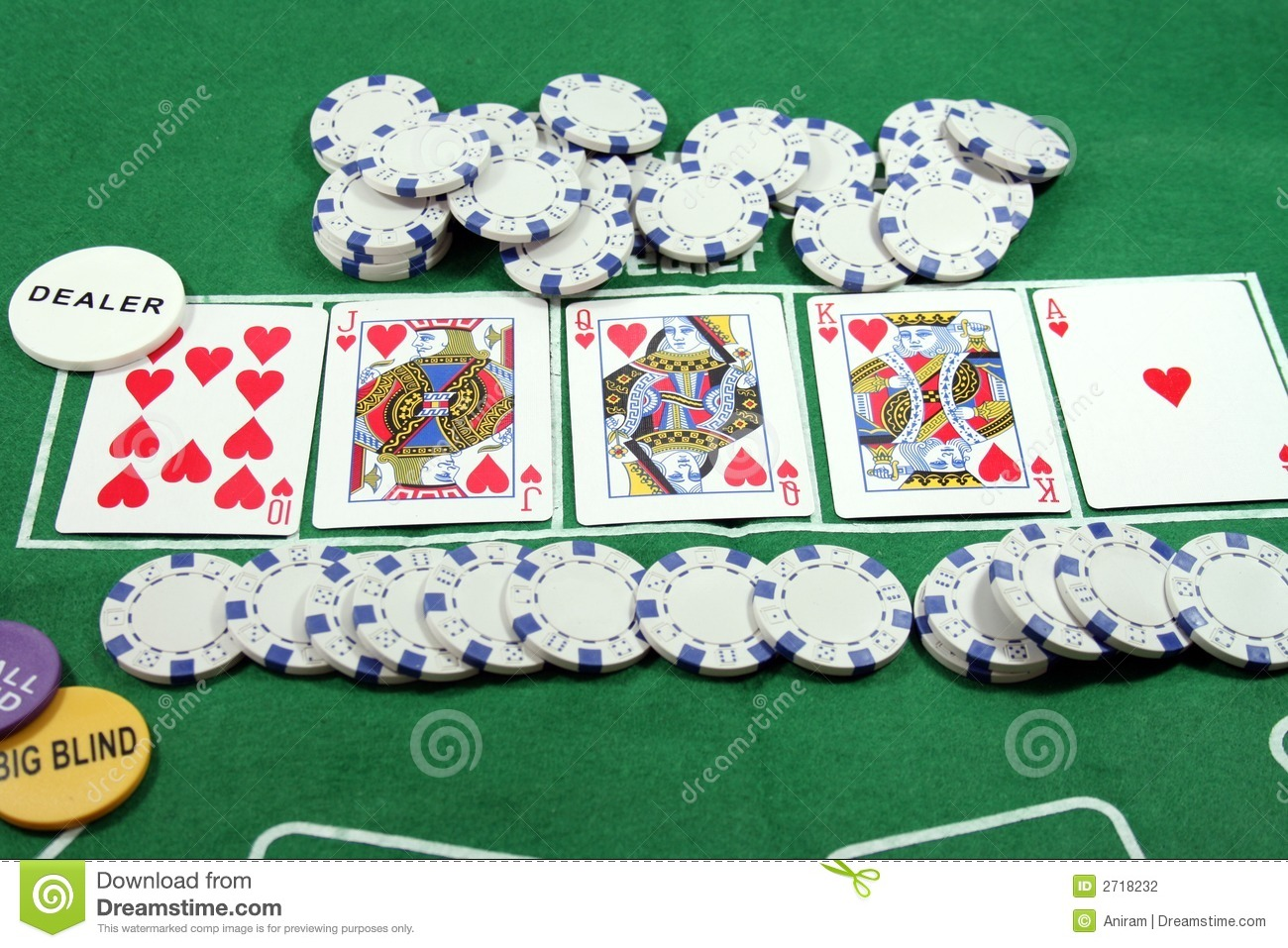 Poker game stock photo. Image of colour, green, betting ...