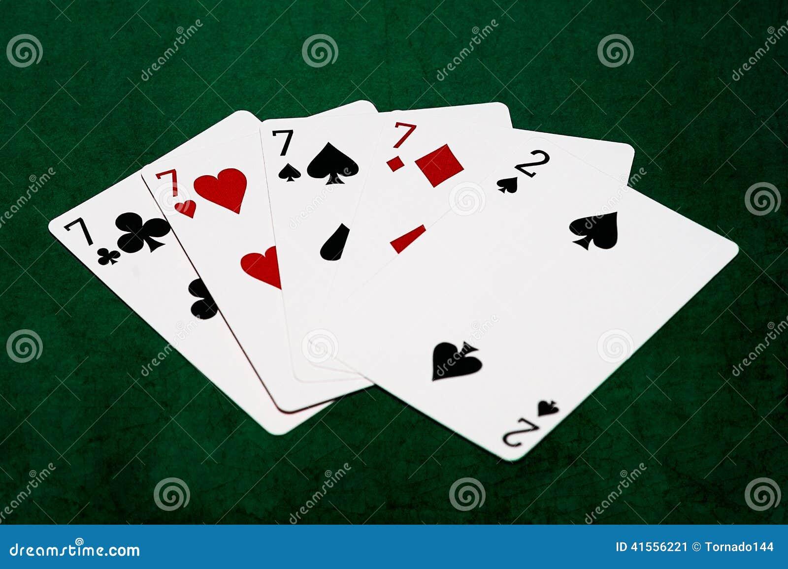 Poker 4 of a kind