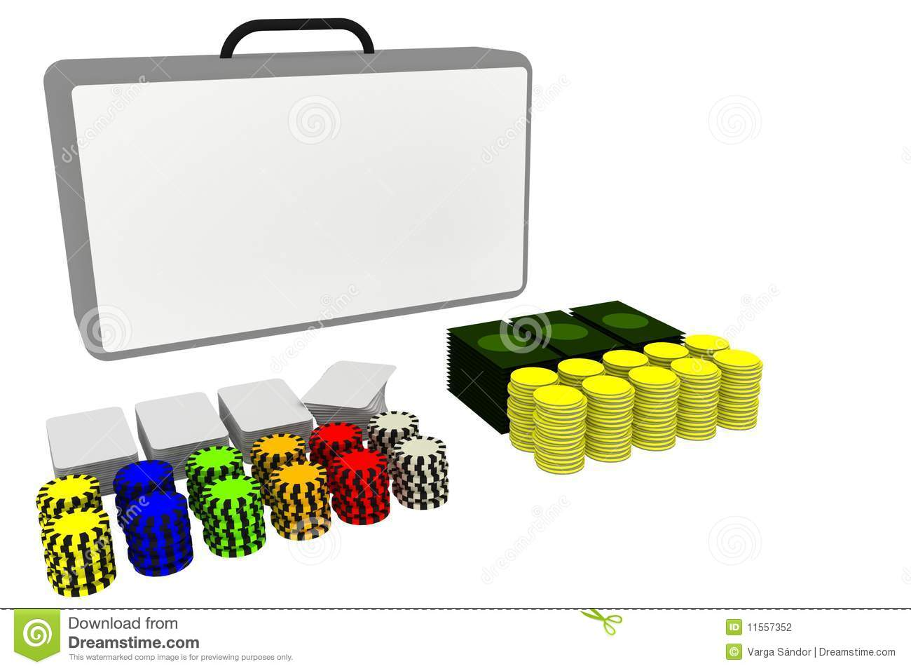 Casino poker photo booth props perfect for your Las Vegas