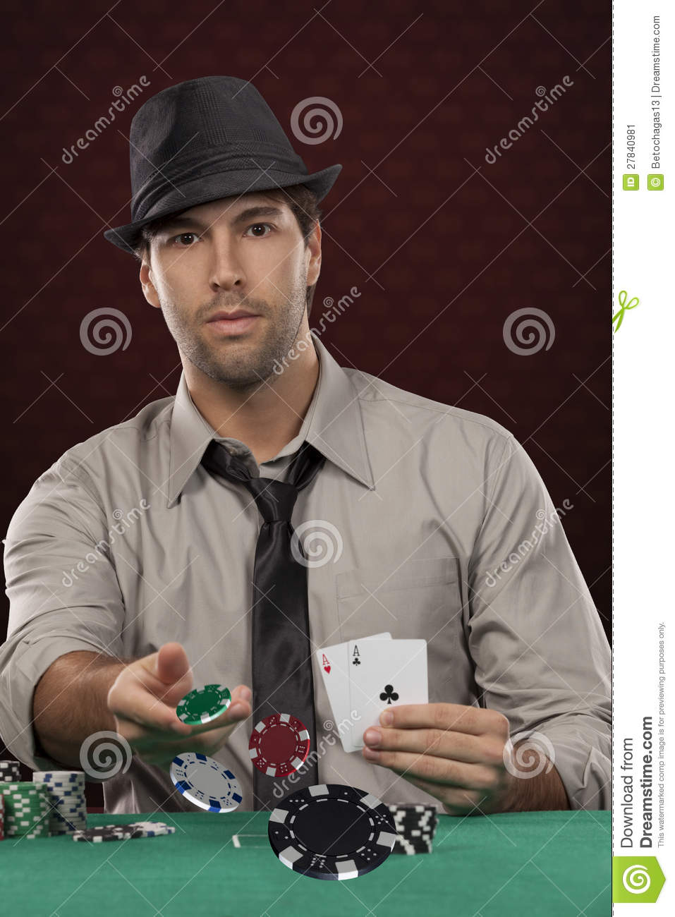 Brazilian poker player