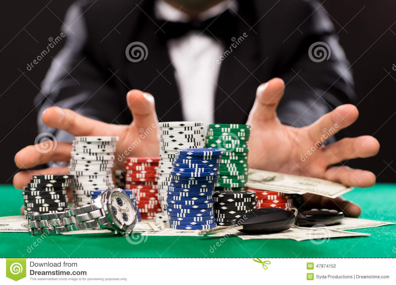 How to make money playing poker