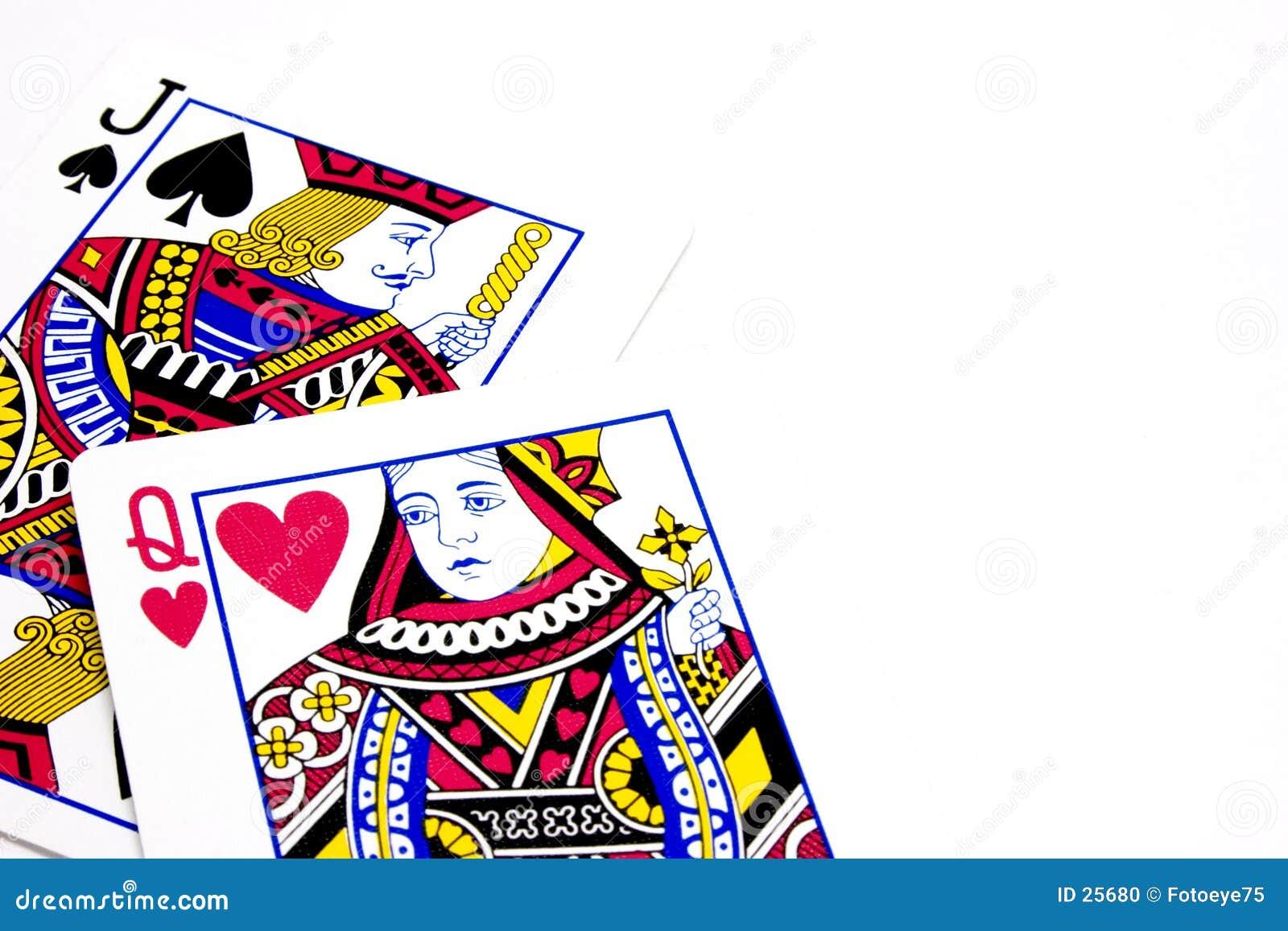 Queen of hearts ...Ten Of Spades