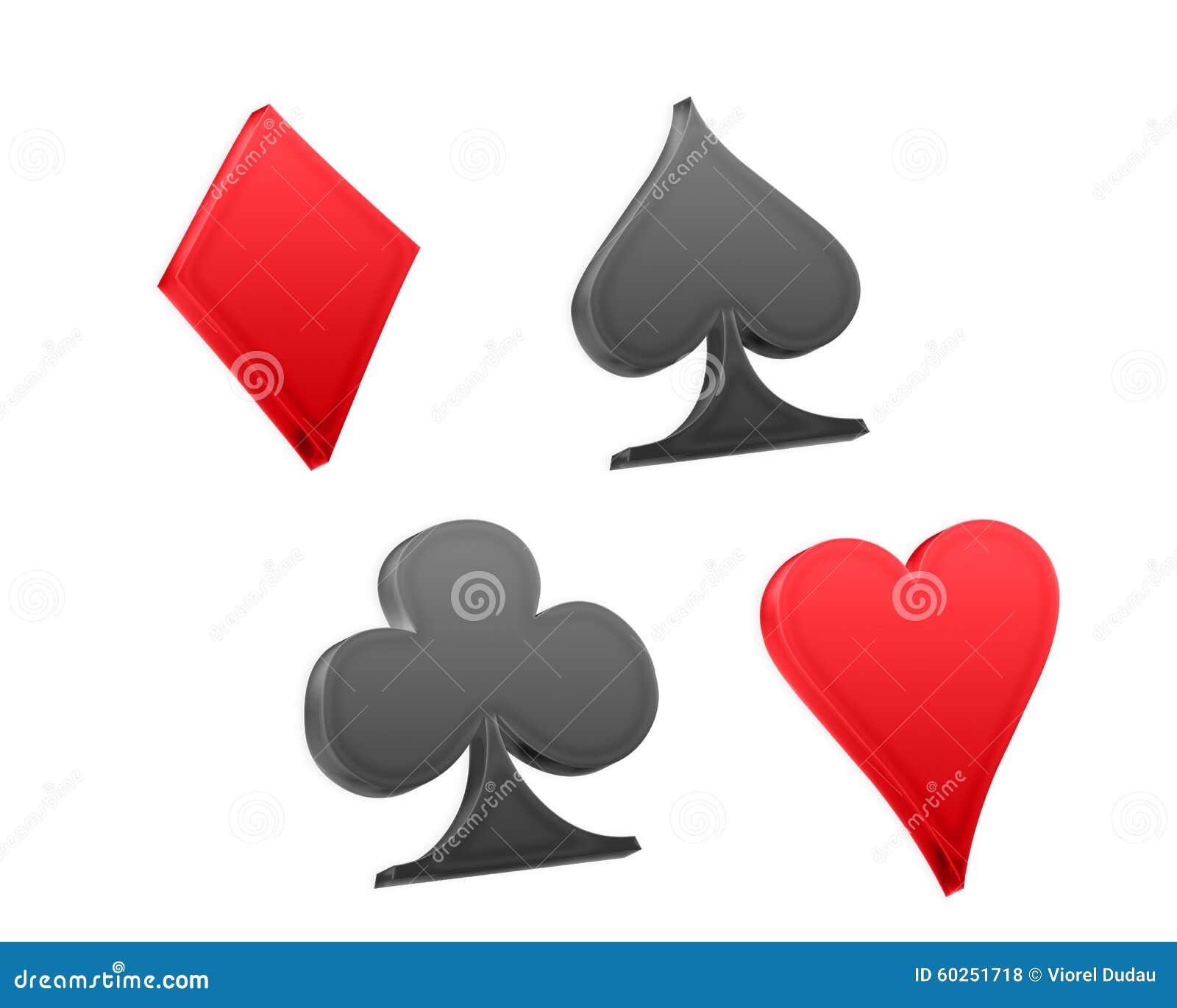 Poker playing cards symbols stock illustration illustration poker playing cards symbols biocorpaavc