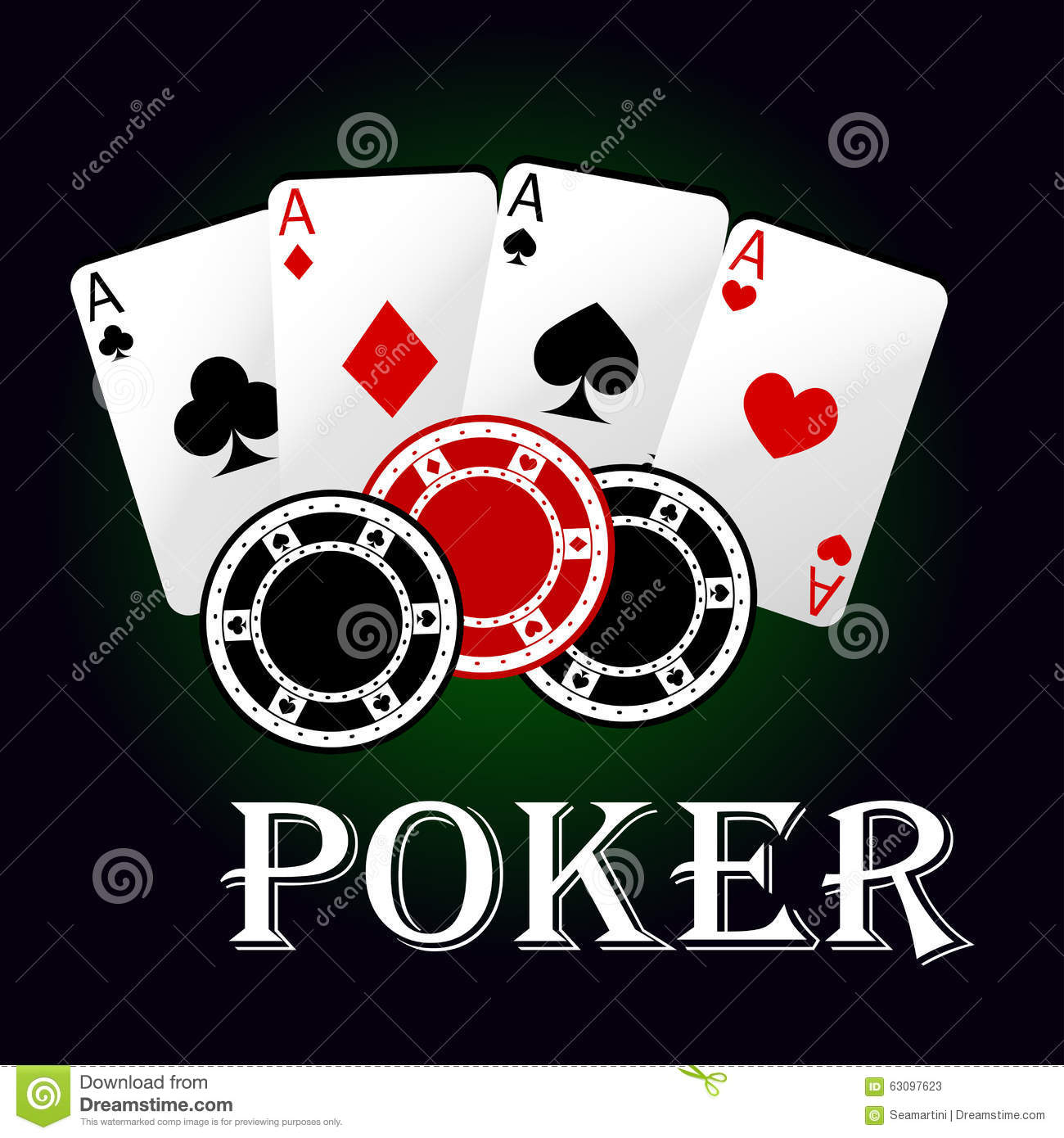 4 pics 1 word poker chips four aces