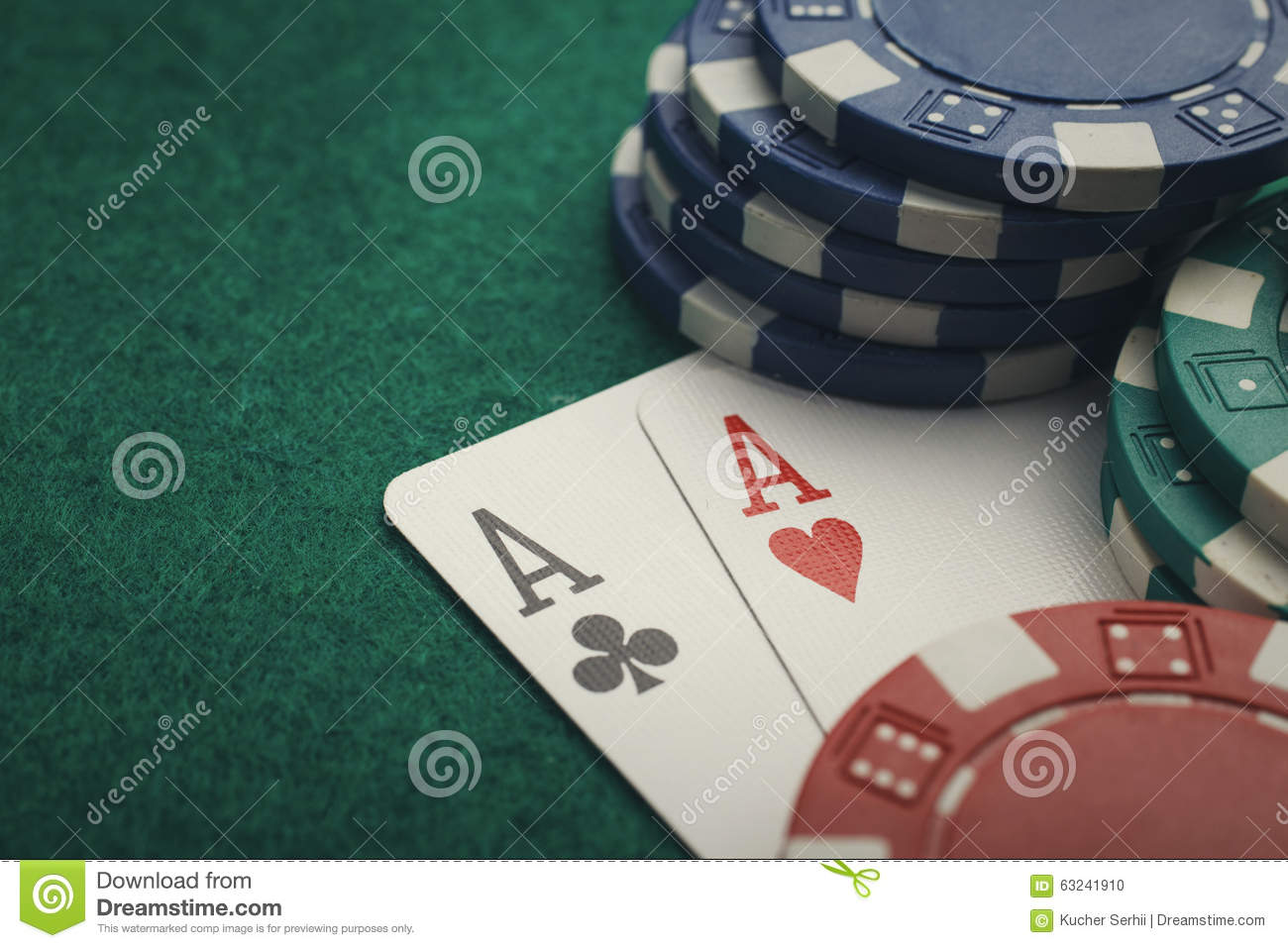 what are two aces in poker