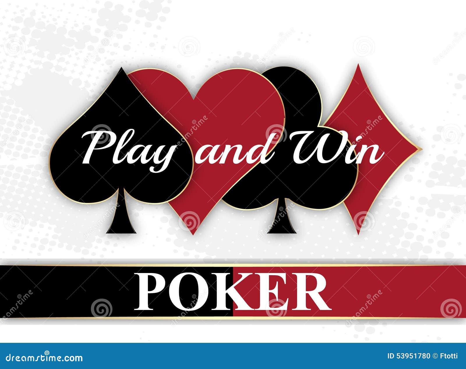 Poker wallpaper with playing card symbols stock vector poker wallpaper with playing card symbols biocorpaavc
