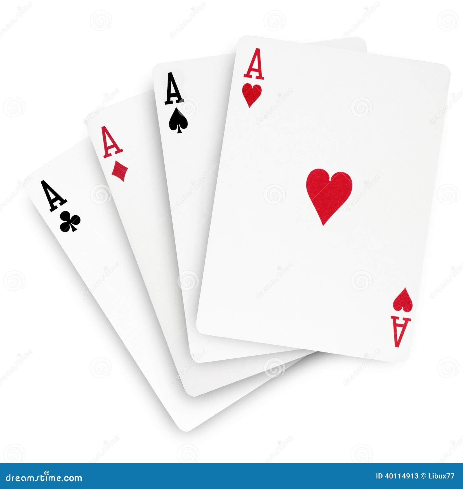 Poker winning cards