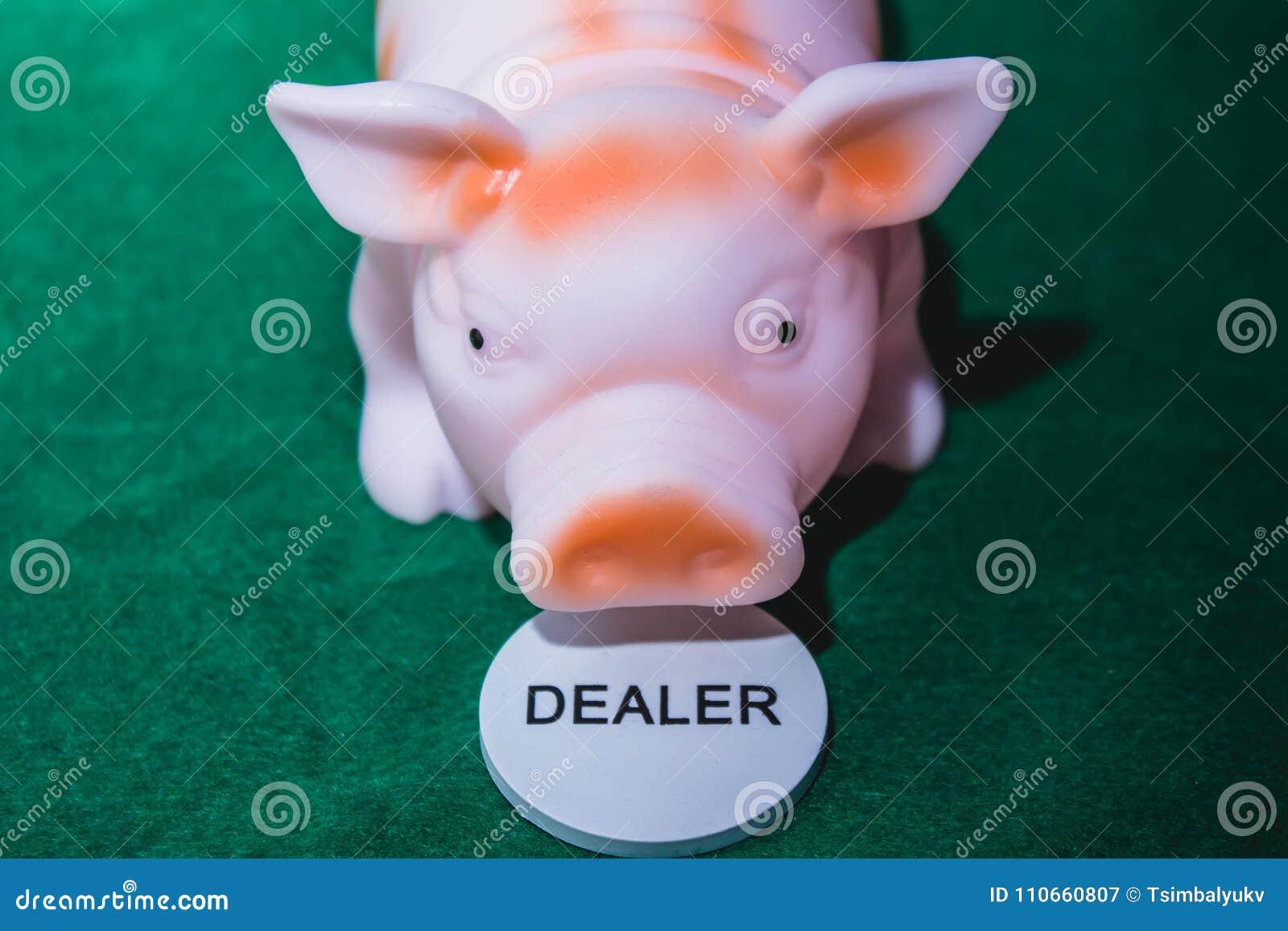 Pokerhändlerschwein
