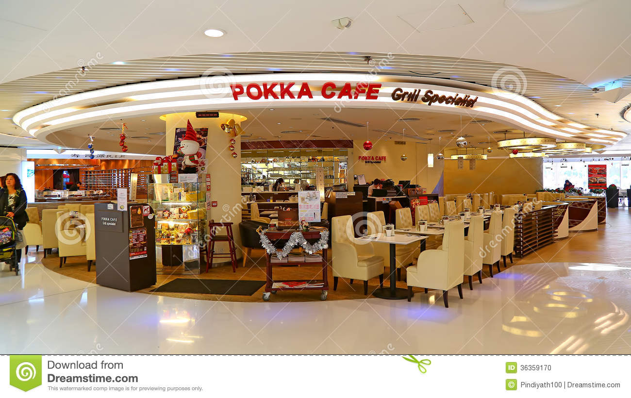 Pokka cafe restaurant editorial image image of kong for Cuisine x hong kong