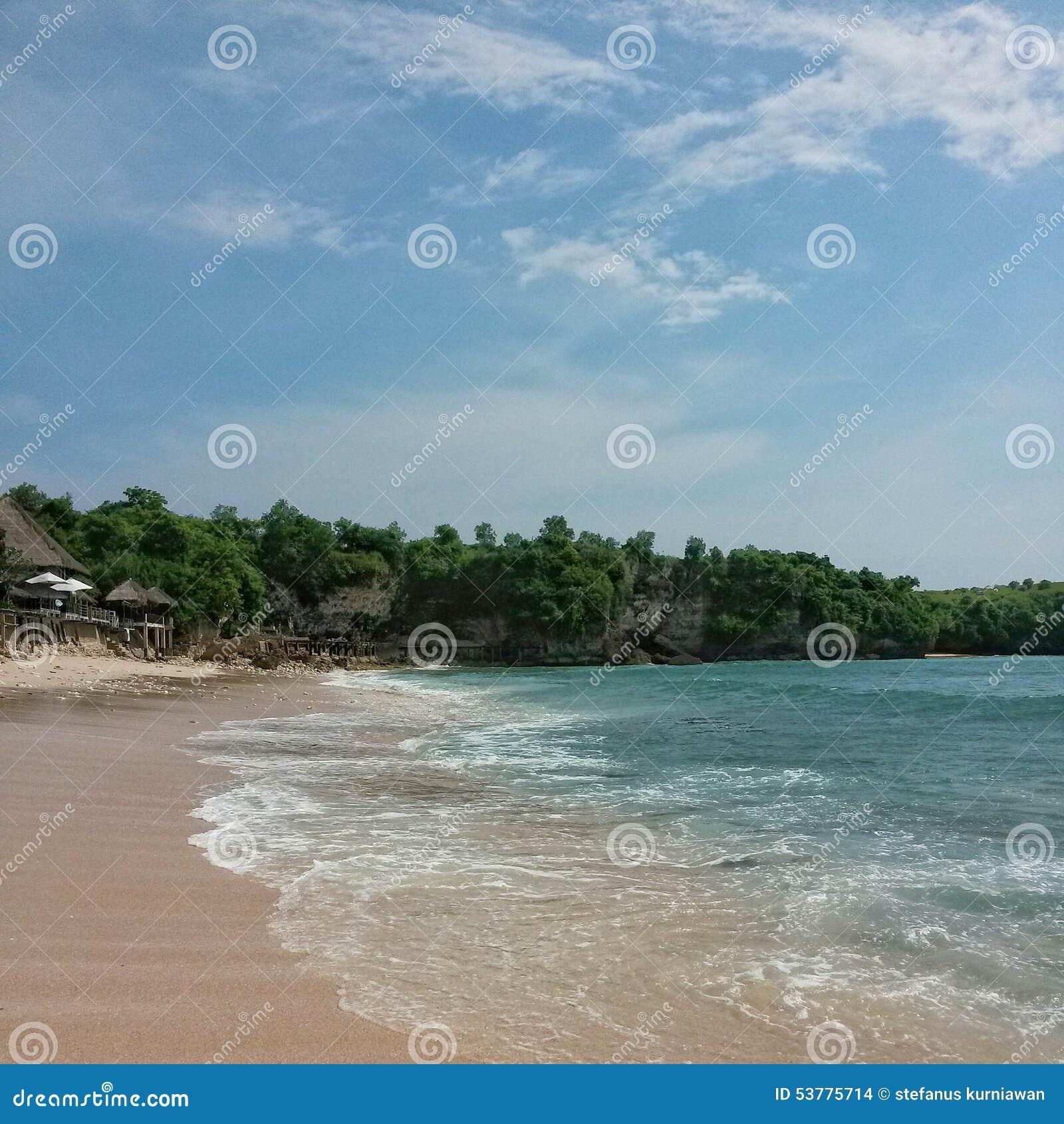Pokojowa plaża