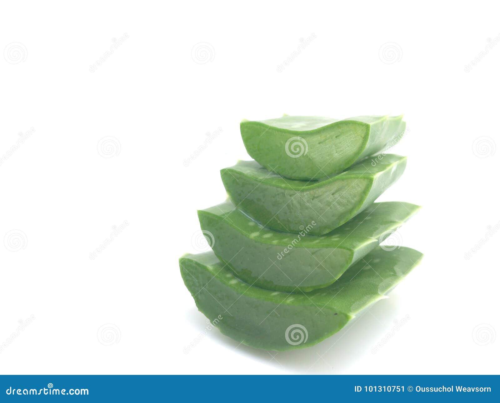 Pokrajać aloesu Vera, pożytecznie ziołowa medycyna dla skóry opieki i włosianej opieki