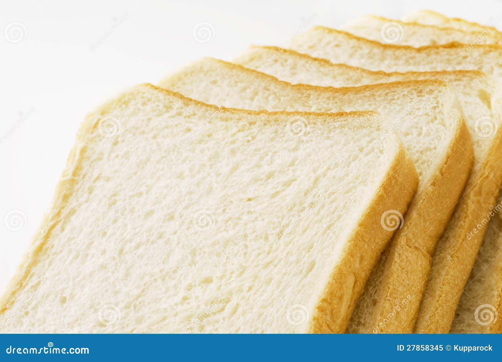 Pokrojony prosty chleb