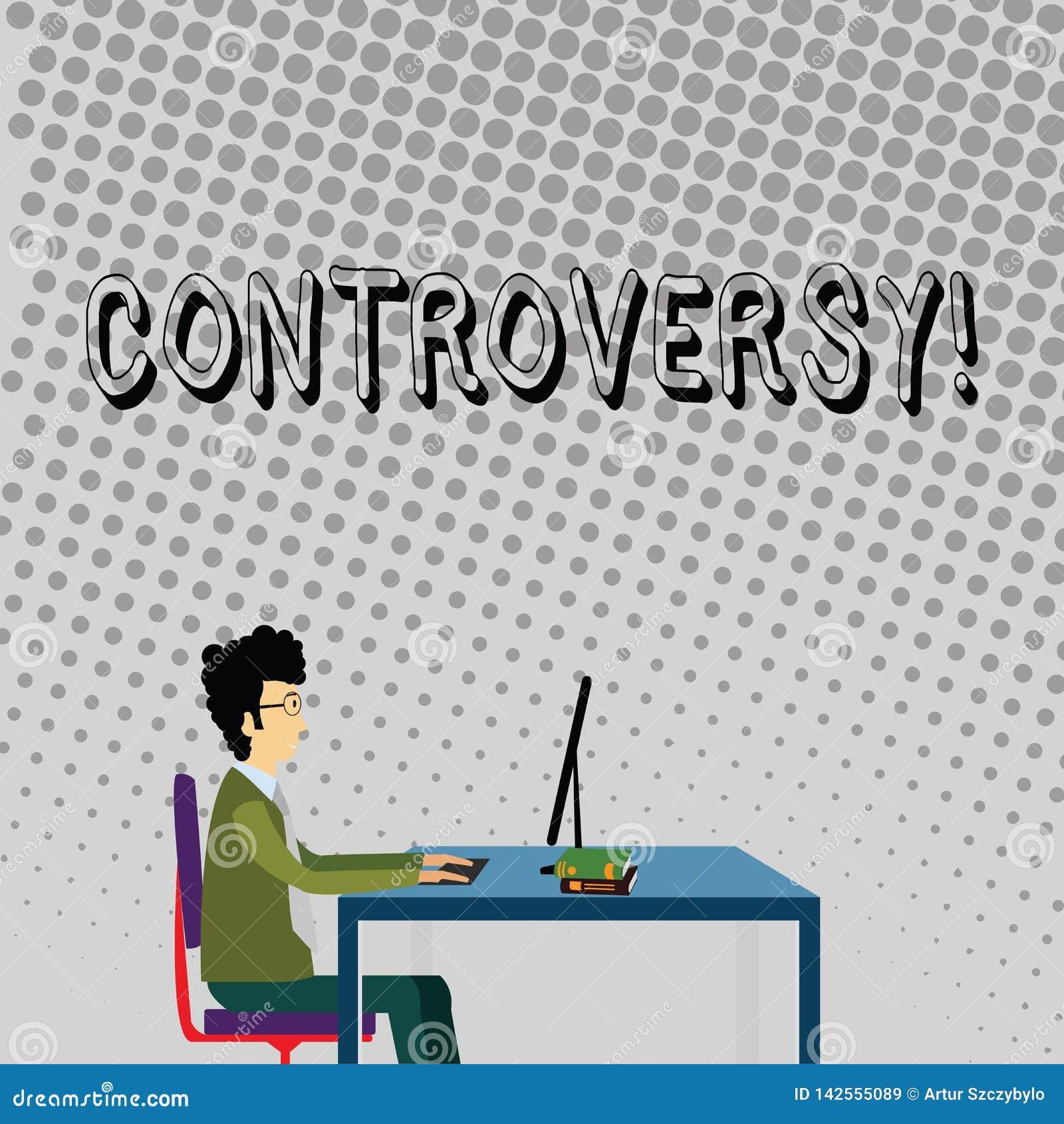 Polémique des textes d écriture Concept signifiant le désaccord ou l argument au sujet de quelque chose importante pour montrer l