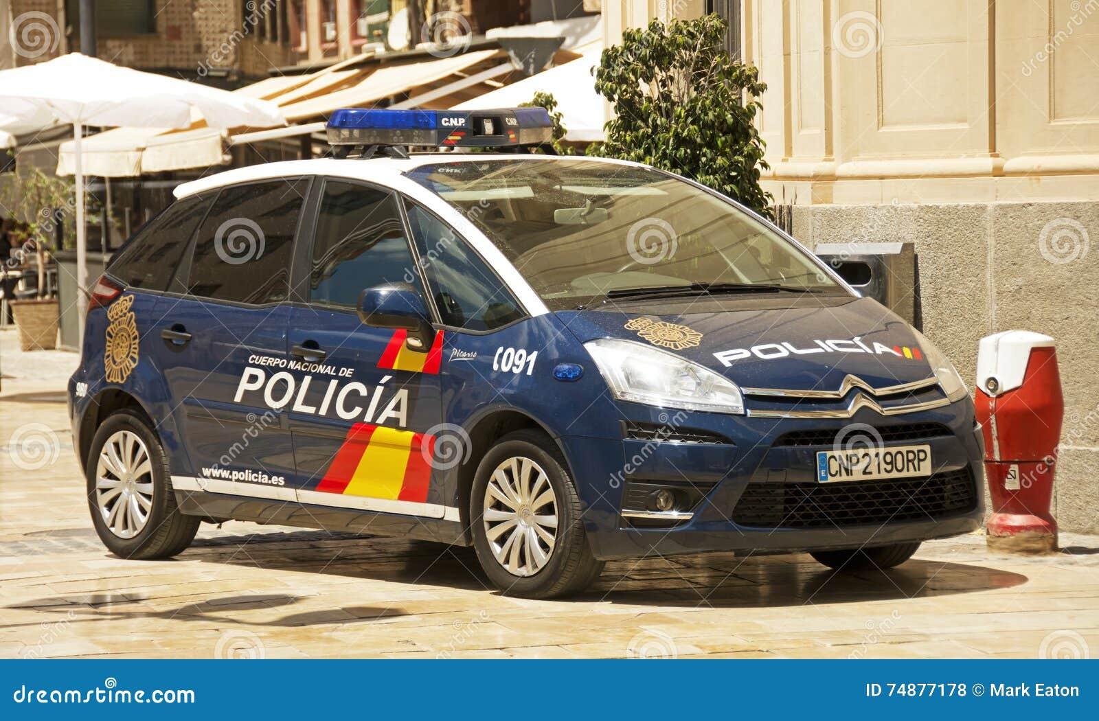 Polícia nacional espanhola