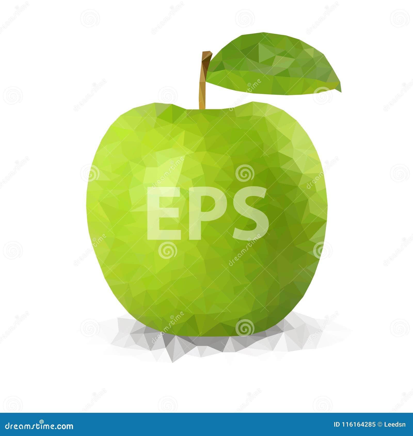 Polígono verde Apple 01 [convertido]