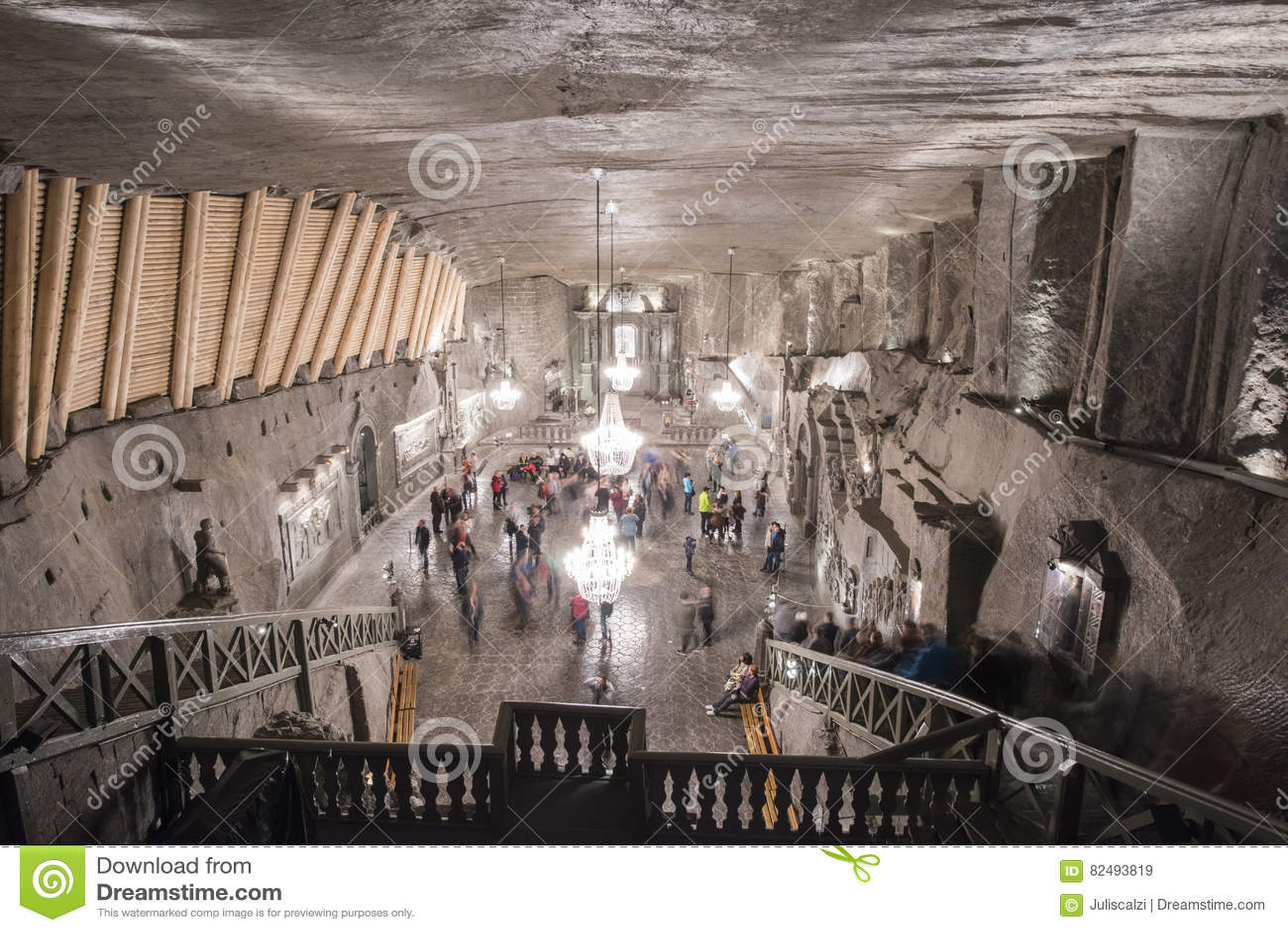 Poland's Ondergrondse Zoute Kathedraal
