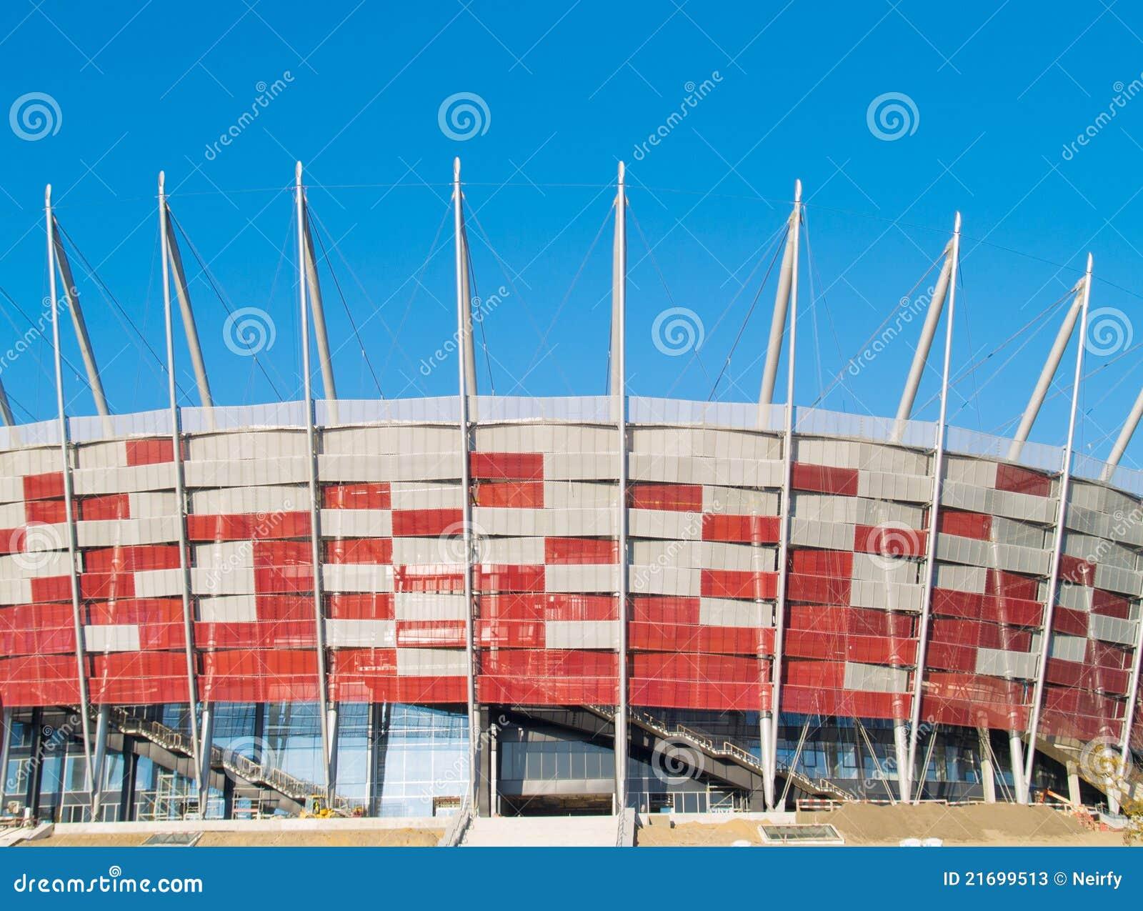 Poland krajowy stadium Warsaw