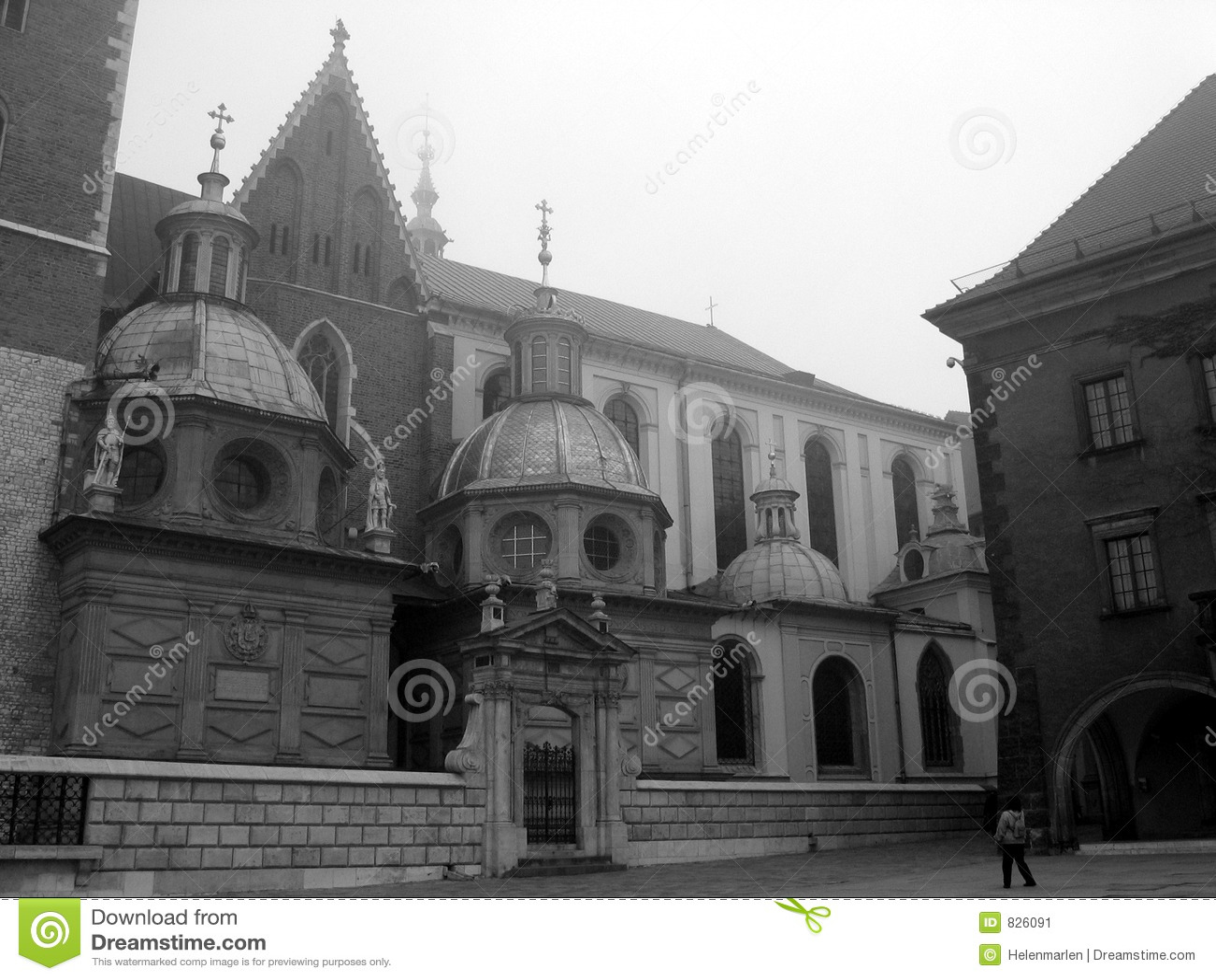 Poland Krakow Wawel Cathedral