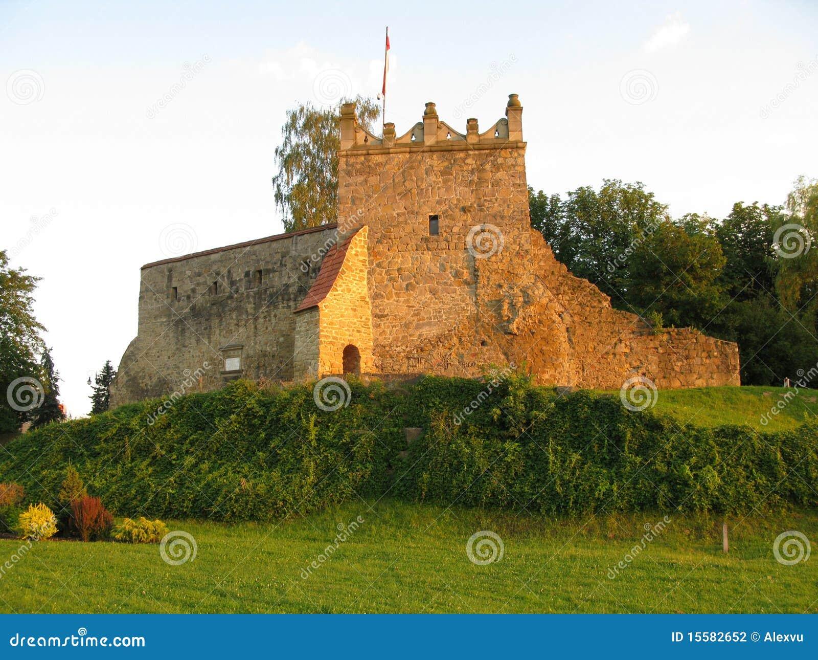 Poland, Nowy Sacz Fortress Stock Photography  Image 15582652 -> Kuchnie Kaflowe Nowy Sacz