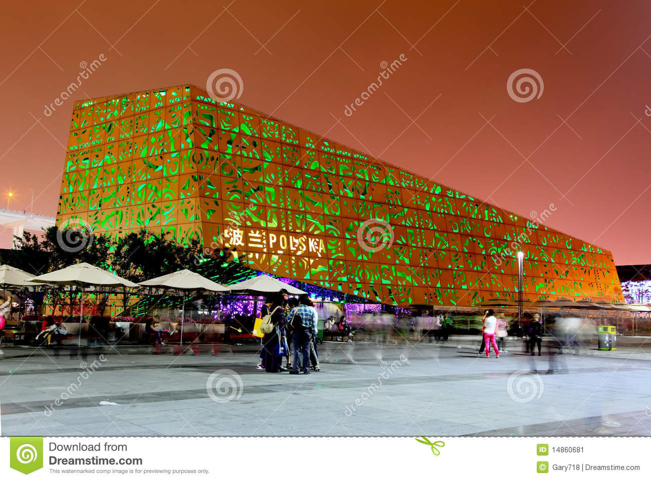The Poland Pavilion at the World Expo in Shanghai