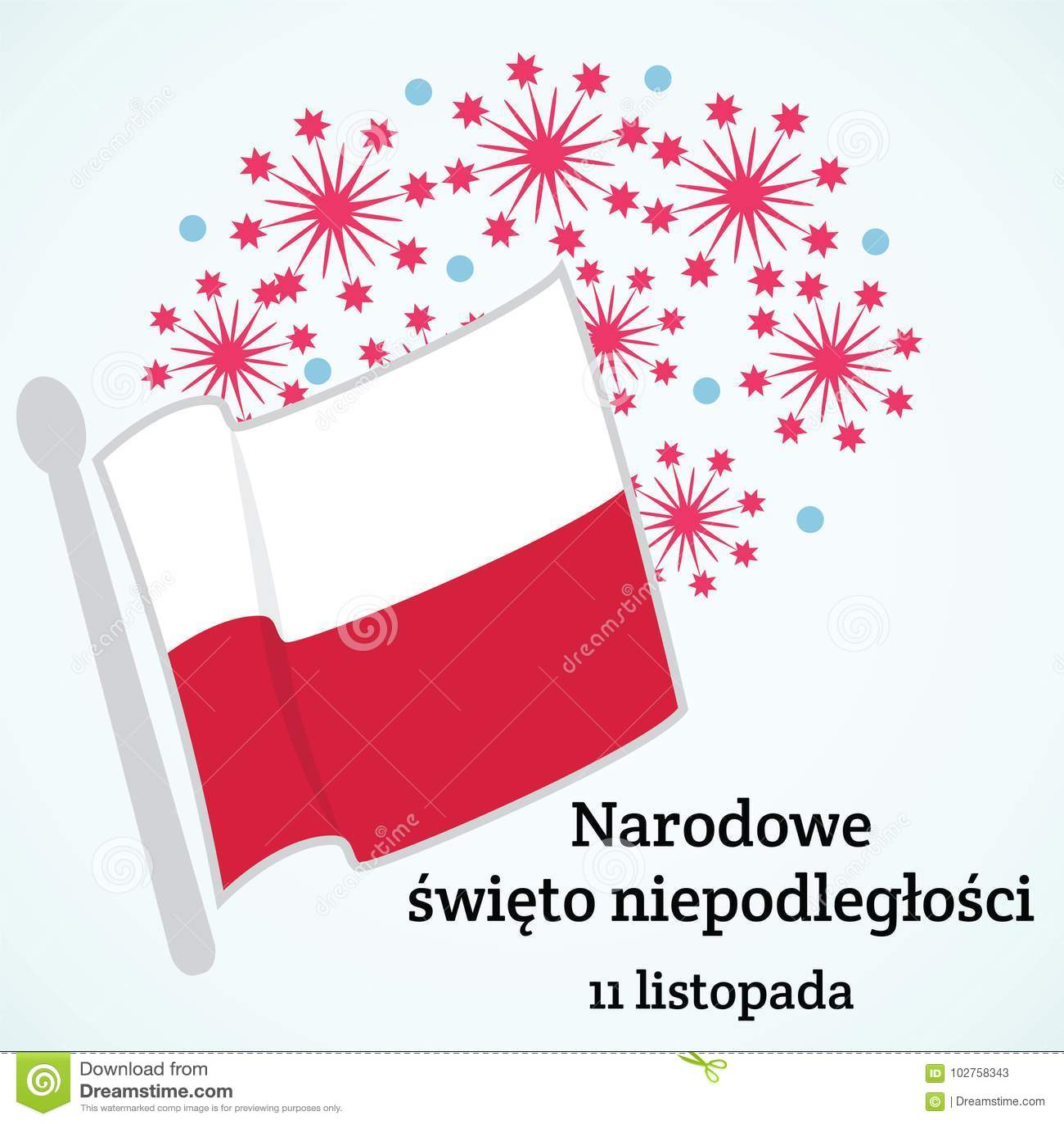Poland Priorità bassa del grunge di indipendenza Day Illustrazione di vettore della bandiera della Polonia