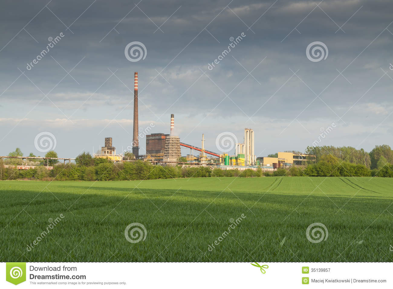 Zabrze Poland  City pictures : Poland, Zabrze, Biskupice Coking Plant Royalty Free Stock Photography ...