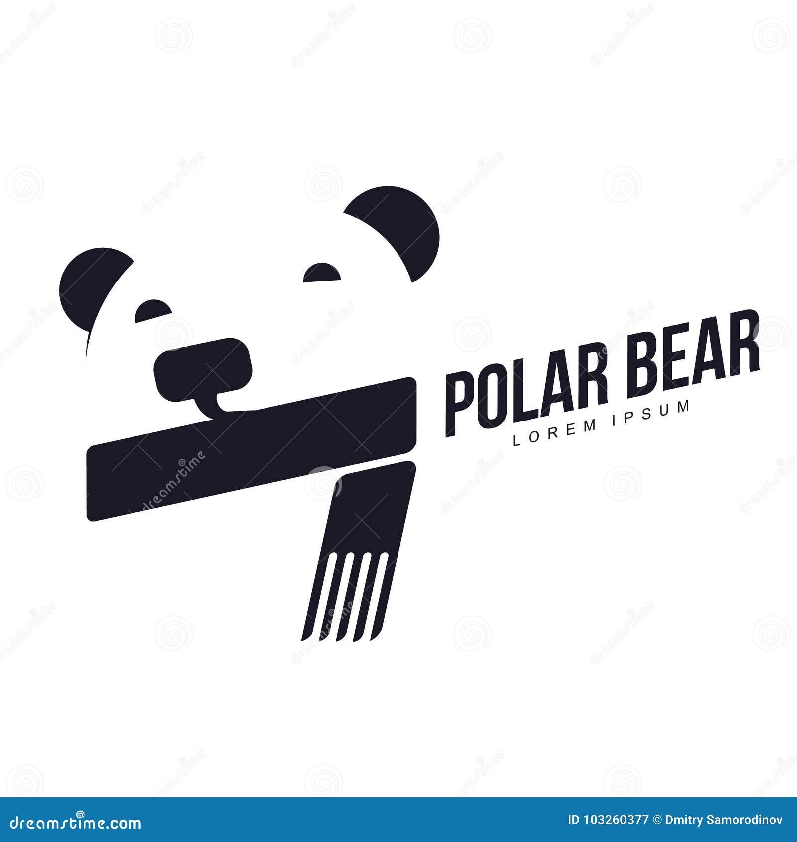 Polar bear logo stock illustration illustration of face 103260377 download polar bear logo stock illustration illustration of face 103260377 maxwellsz