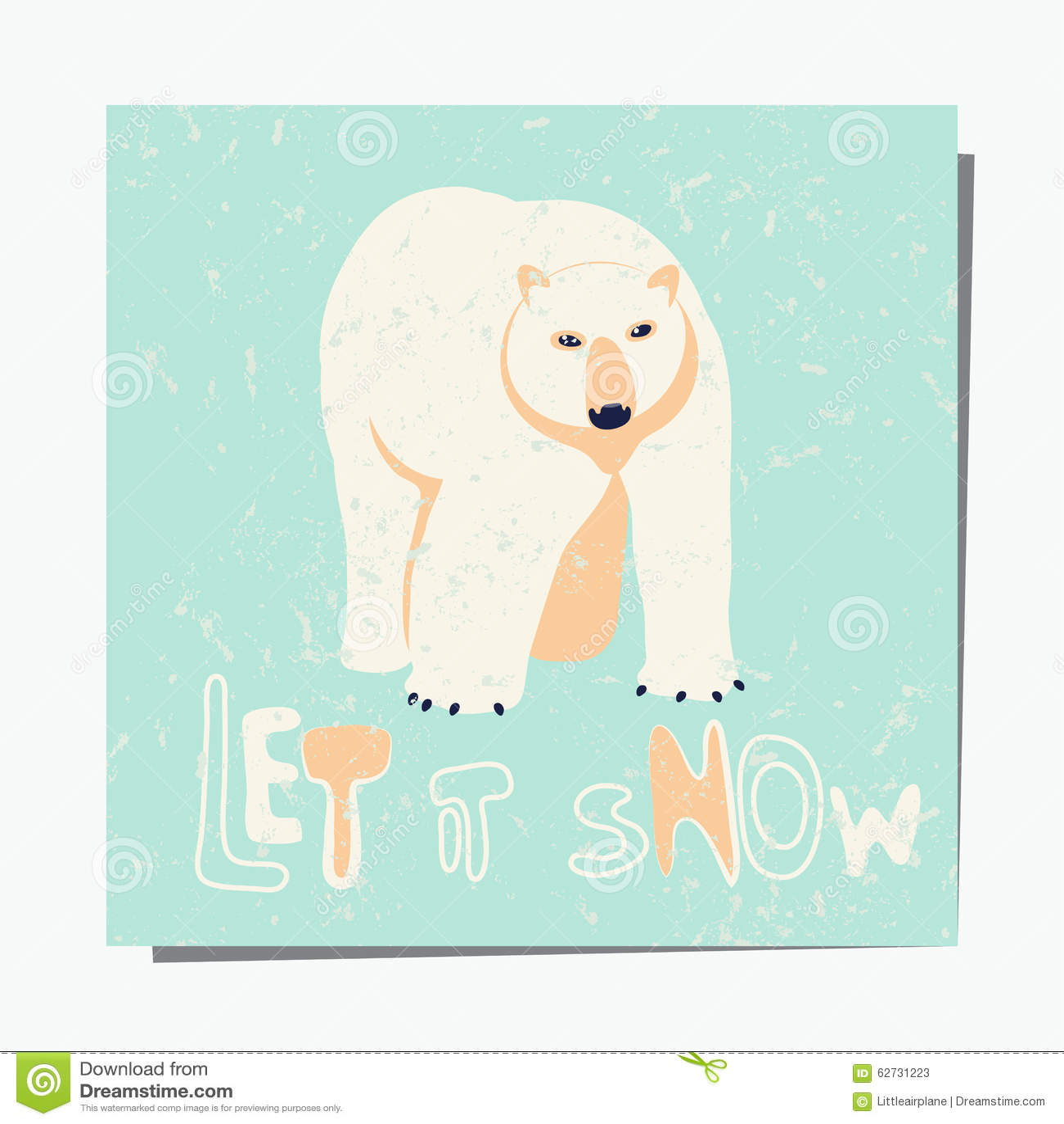Polar Bear Stock Vector