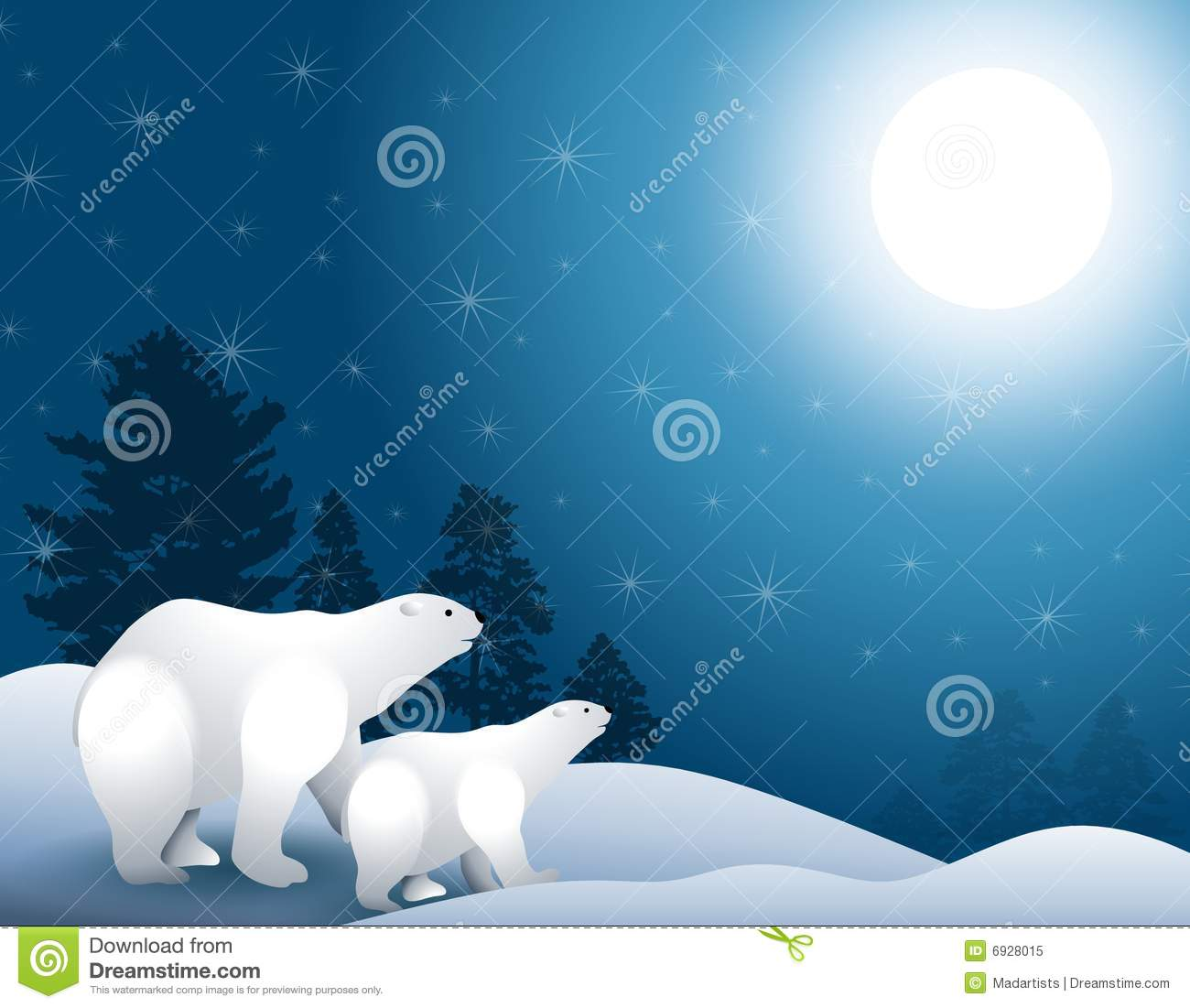 Reindeer and polar bears in the frozen north - 2 4