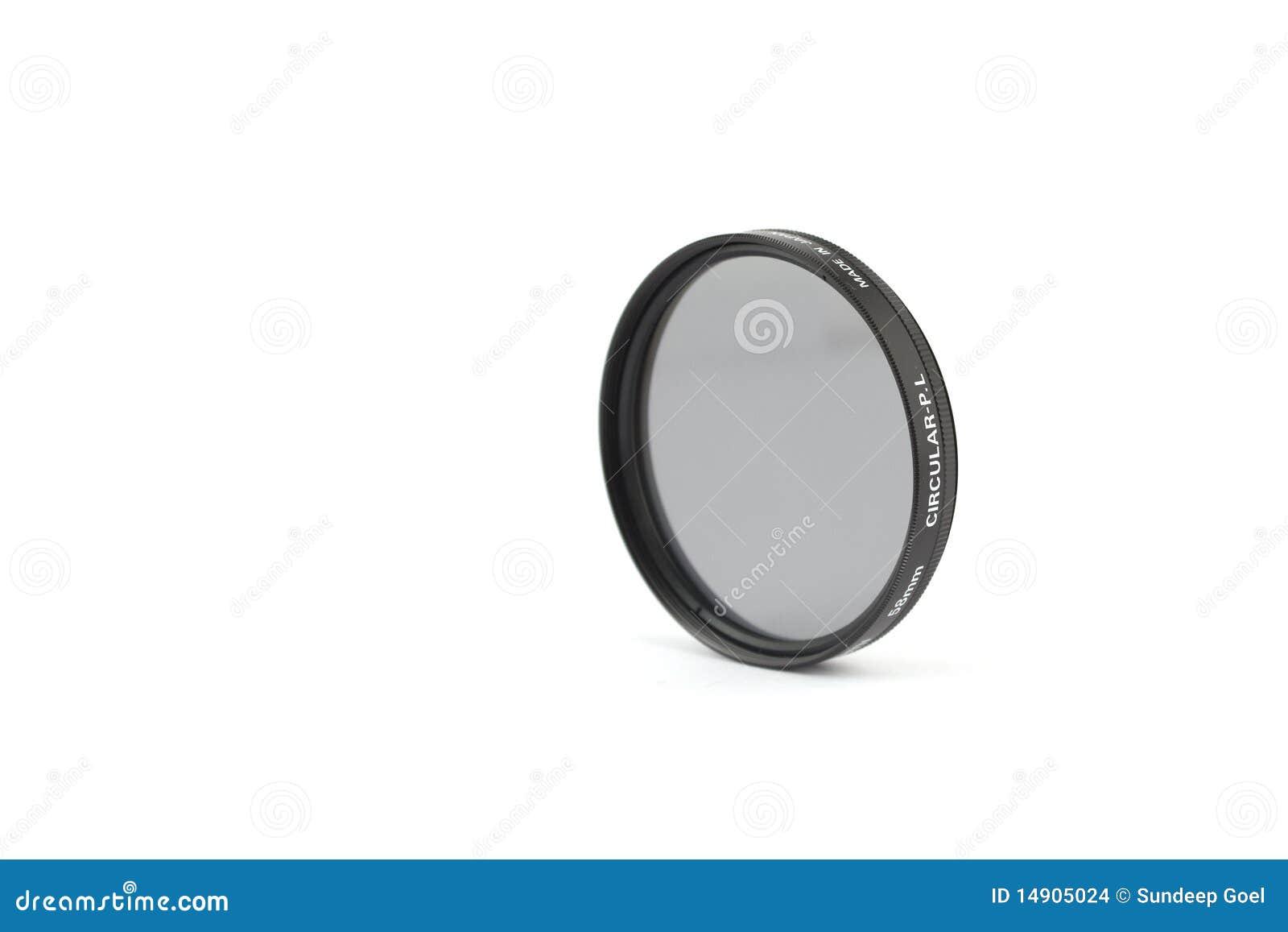 Polariseur de circulaire de 58mm