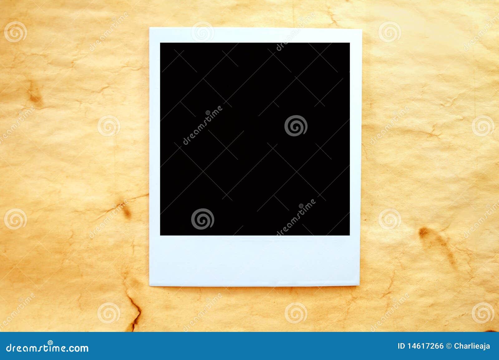 Polaroid de la vendimia