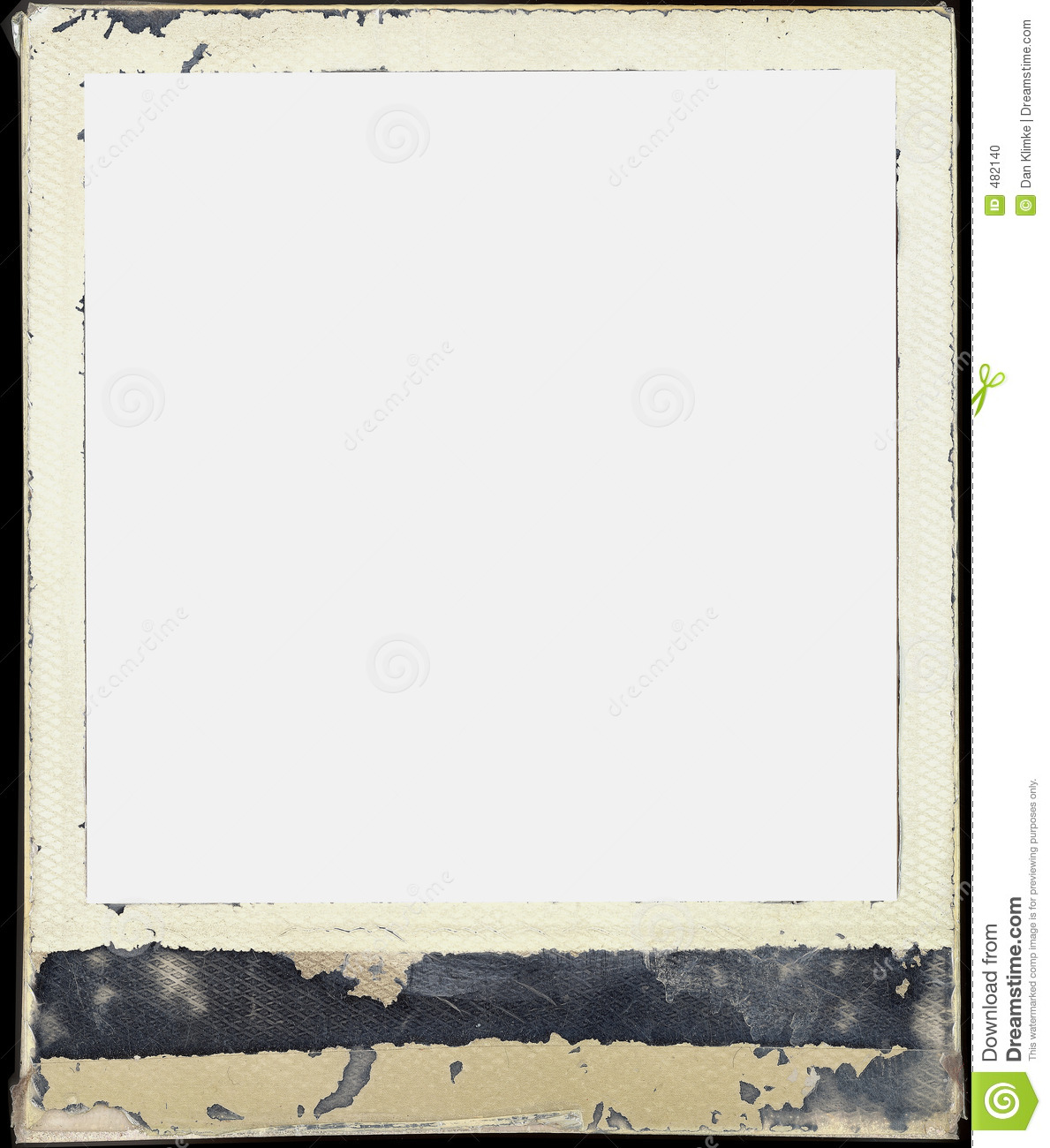 Polaroid frame stock photo. Image of grungy, polaroid, film - 482140
