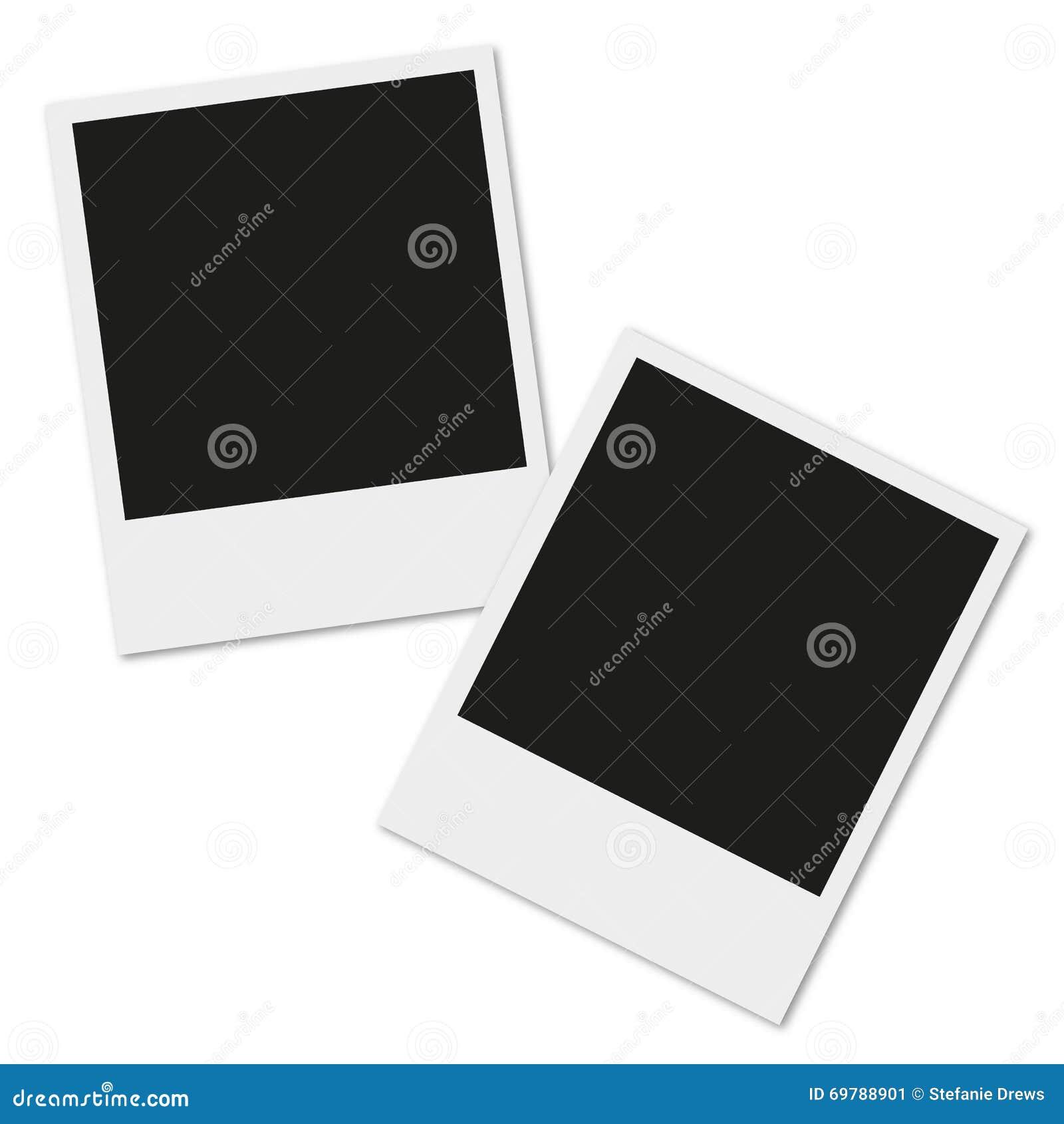 Polaroid Photo Frame stock vector. Illustration of 35mm - 69788901
