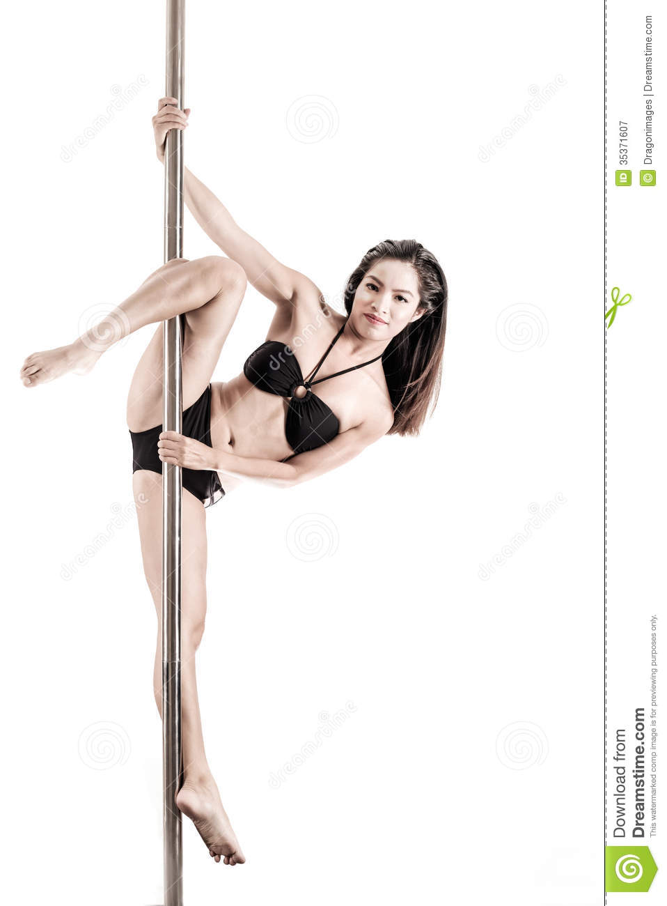 Pole Dancer Royalty Free Stock Photography - Image: 35371607