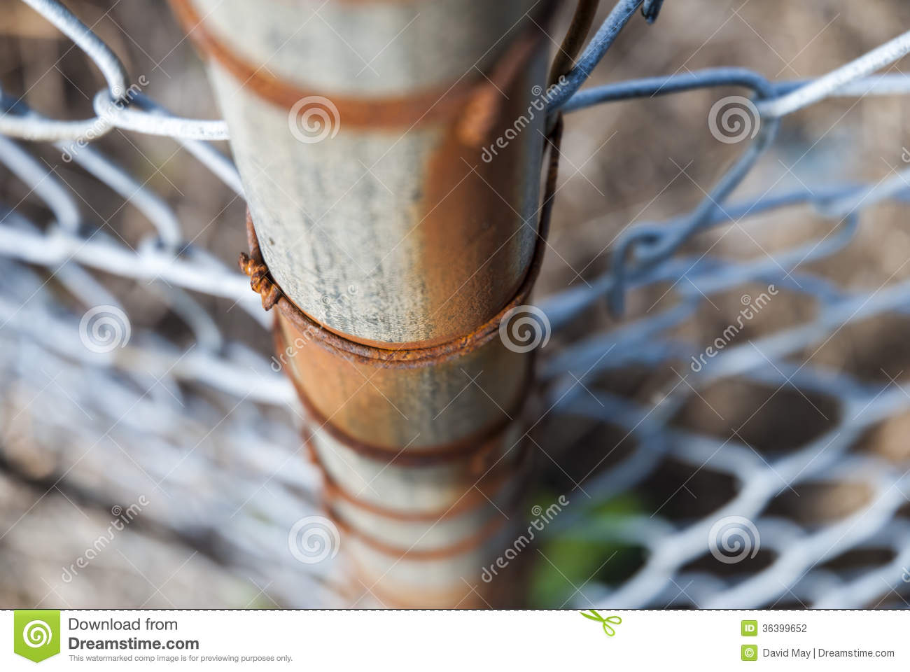 Pole Fence Rust Stock Photo Image Of Vertical Rust 36399652