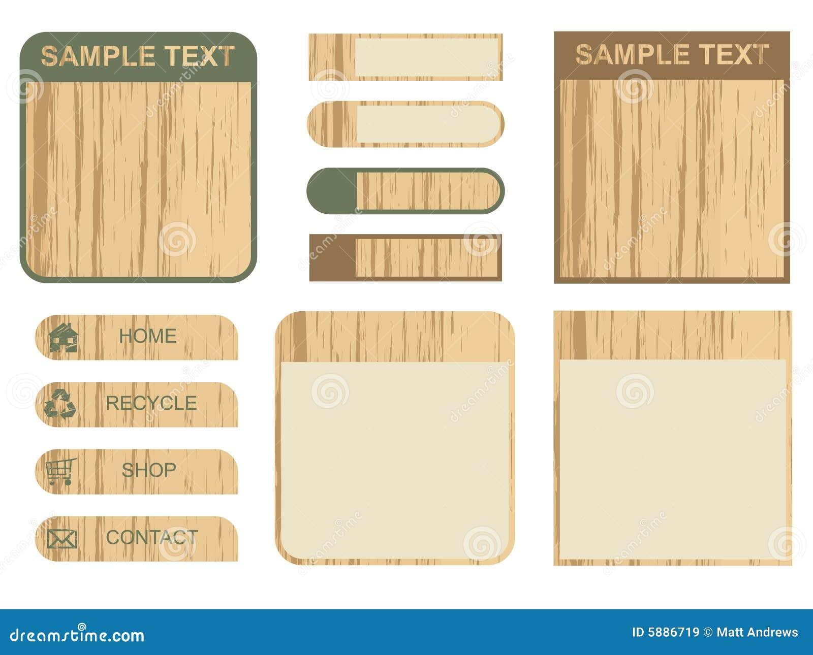 Pole tuck tekst drewniany