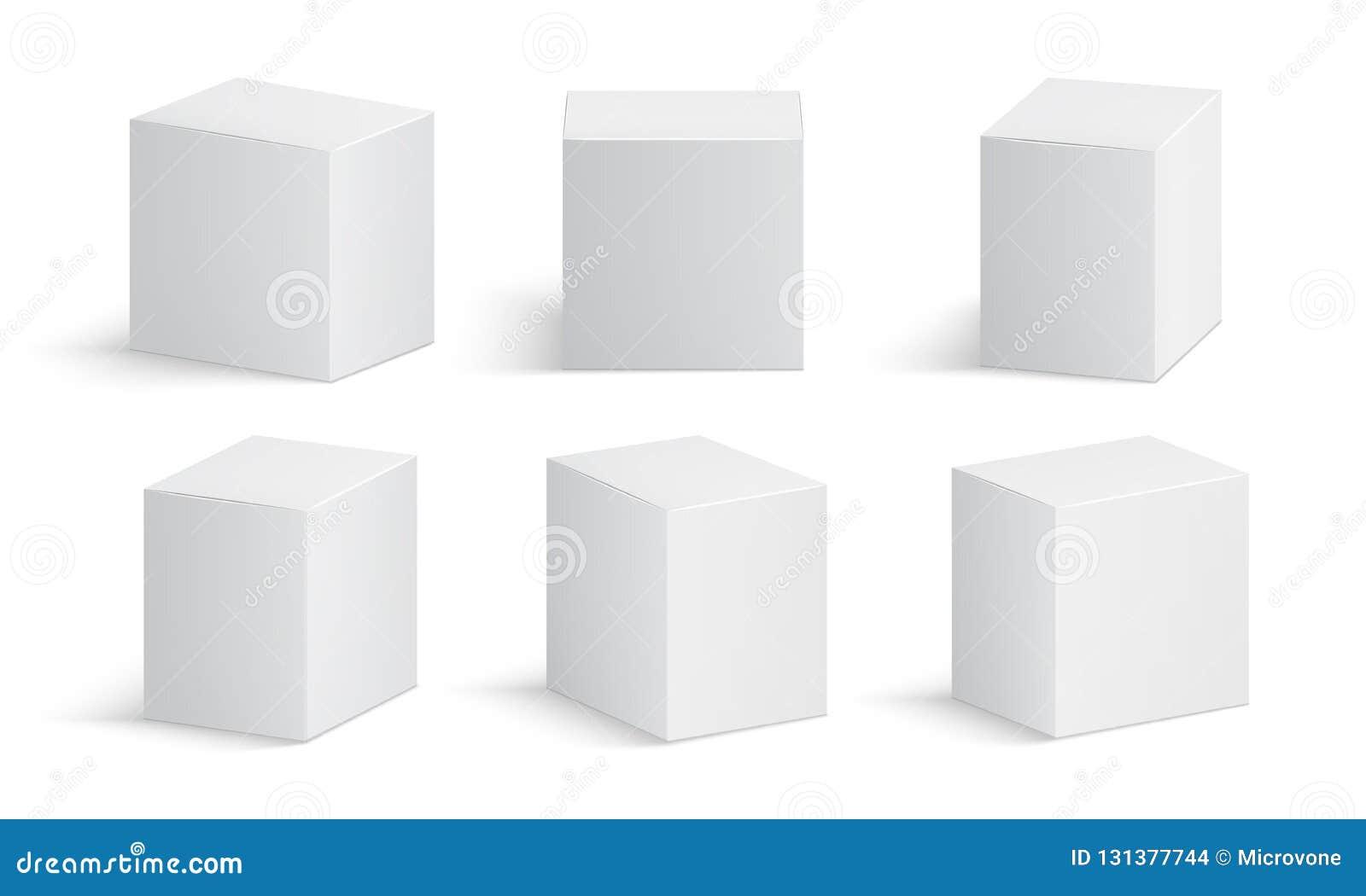 Pole white Pusty medycyna pakunek Medycznego produktów kartonów 3d wektoru odosobniony mockup