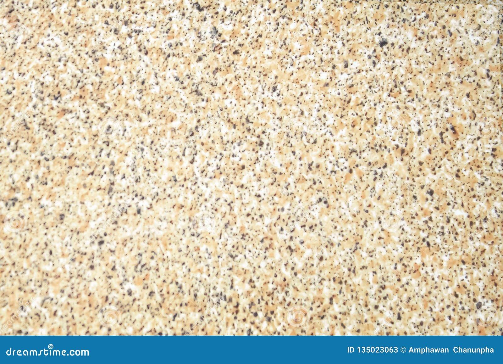 Polerade sömlös texturbakgrund för den detaljerade gamla terrazzoen, naturliga modeller stengolvet